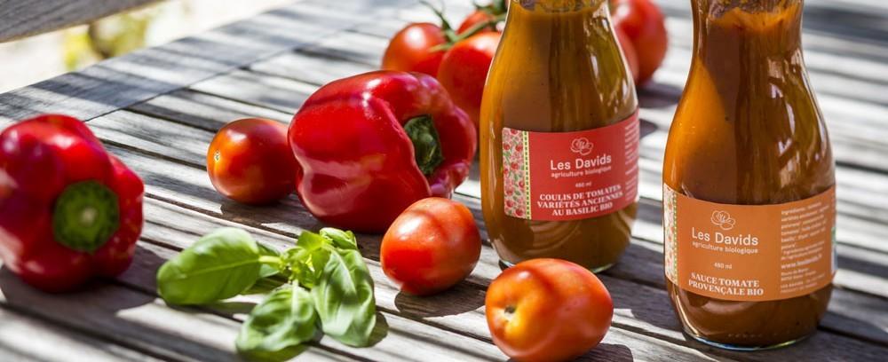 Tous les parfums de la Provence dans un coulis de tomates